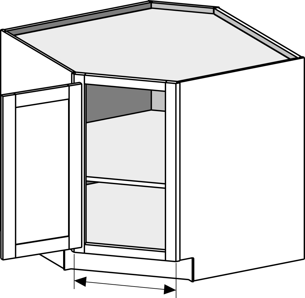 Kitchen Corner Base Cabinet Dimensions .