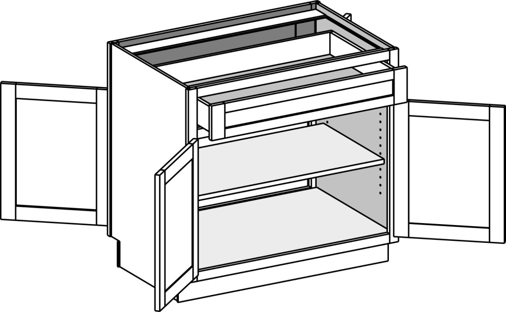 Base Cabinets - Cabinet Joint