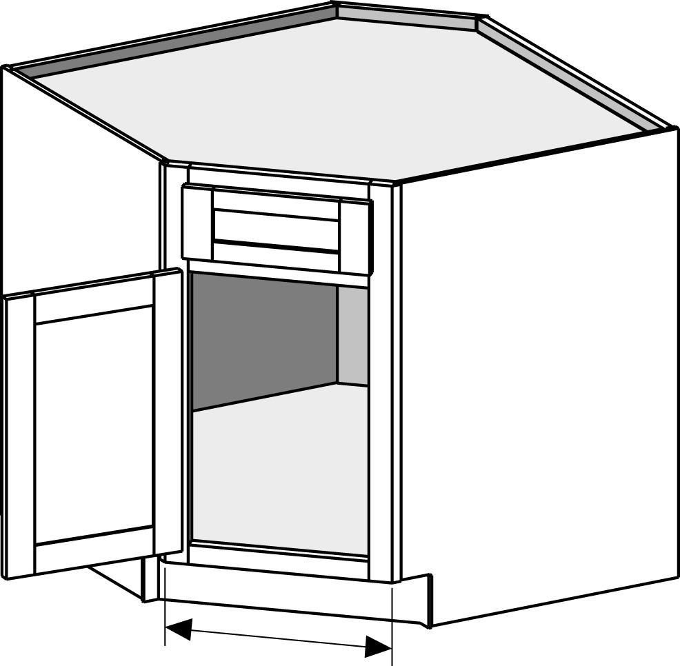 Kitchen Base Cabinet Dimensions: Cabinet Joint