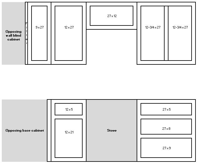 kitchen cabinet size diagrams - Google Search | Kitchen ...